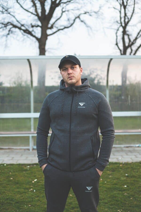 FootballGear Tracksuit Grey